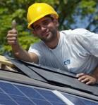 poseur panneaux photovoltaique